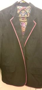 Robert Graham corduroy two buttons blazer